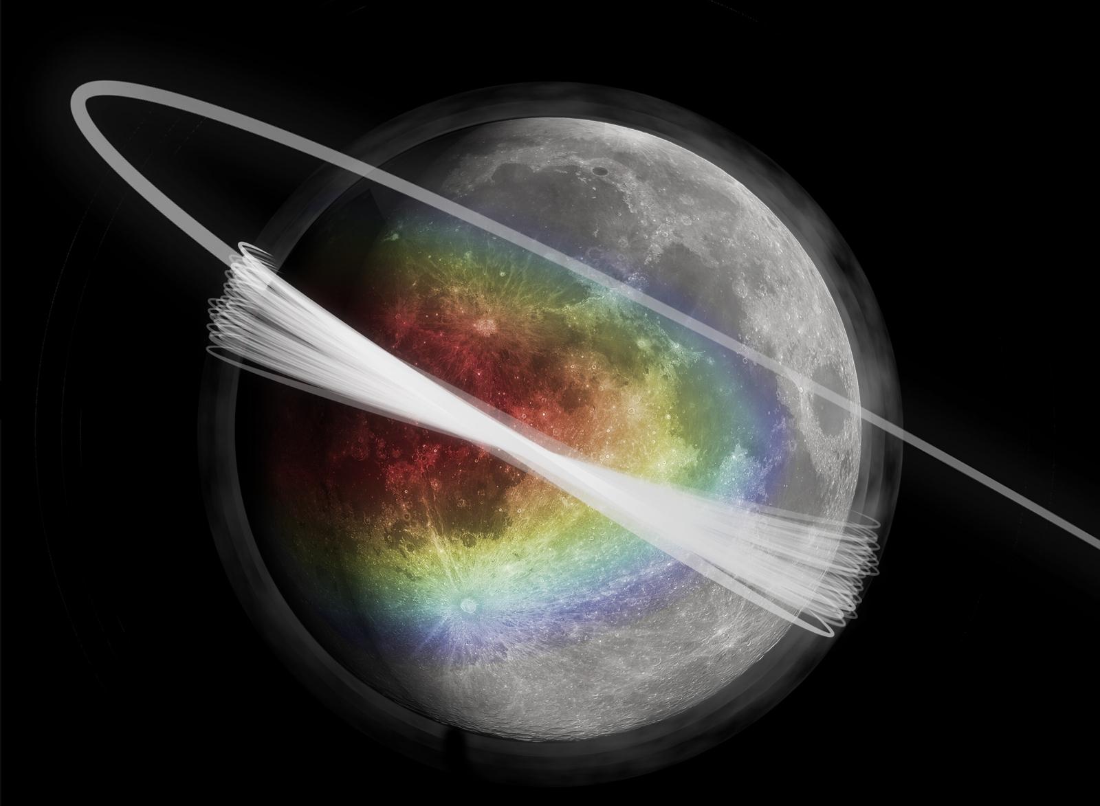 moon dust cloud