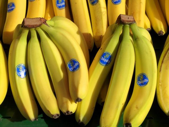 Curved bananas