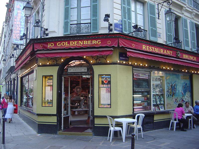 Jo Goldenberg\'s restaurant