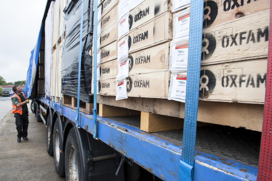 Oxfam aid