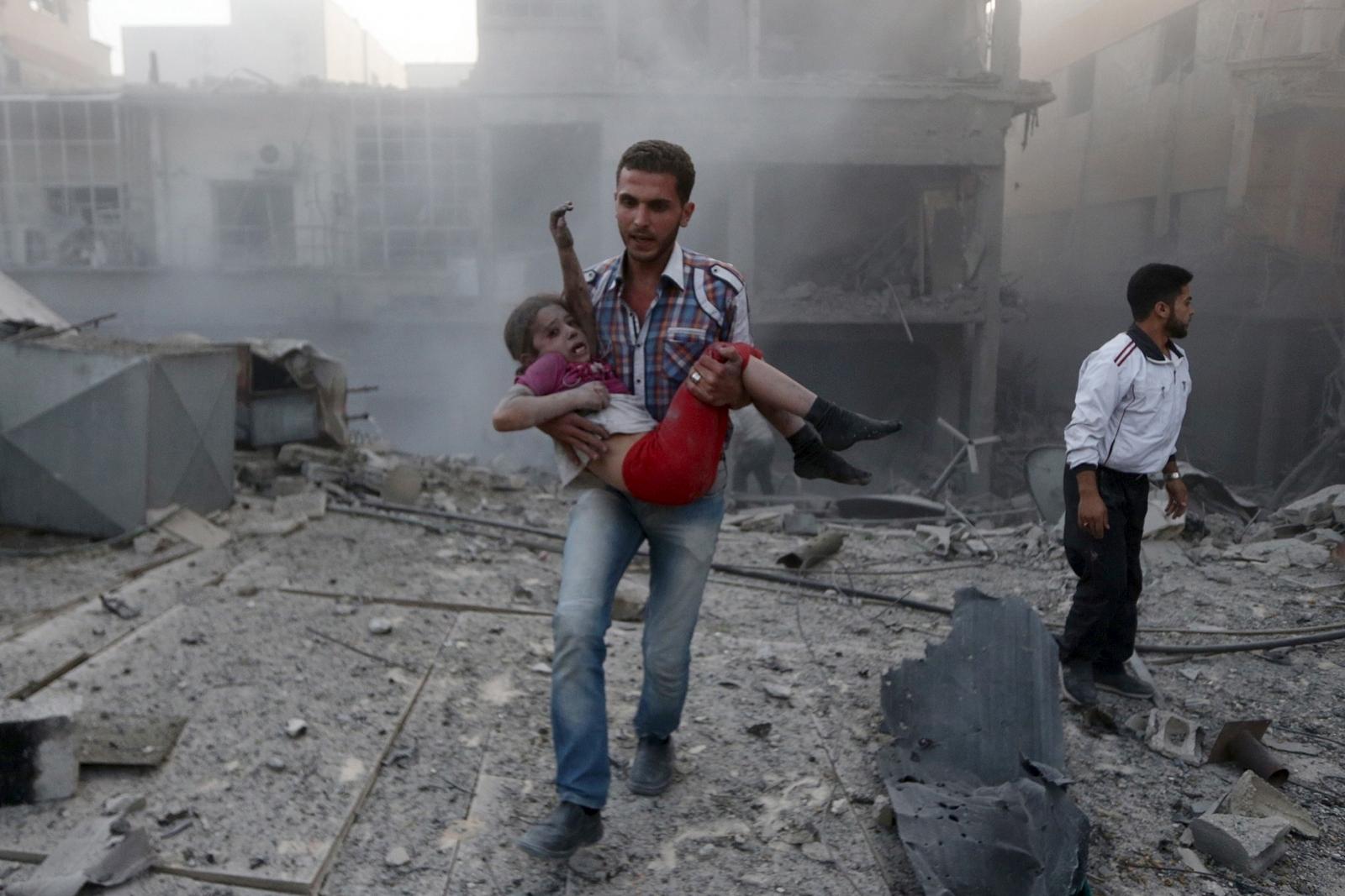 Damascus shelling