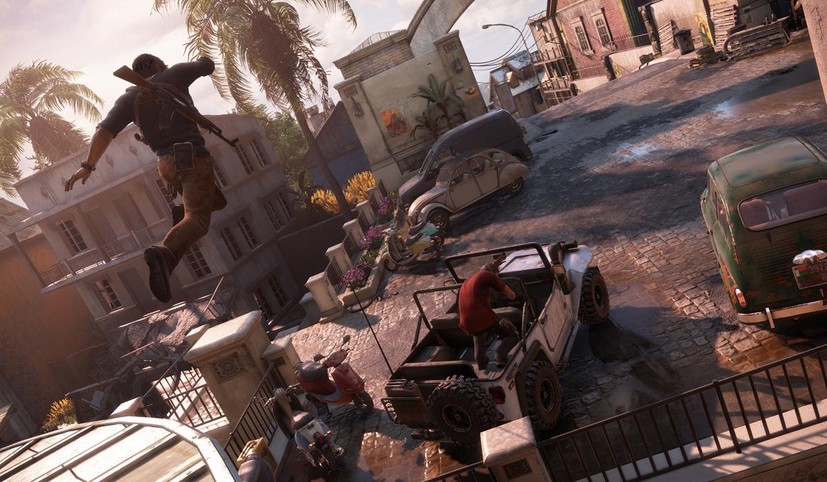 Uncharted 4 screenshot PS4