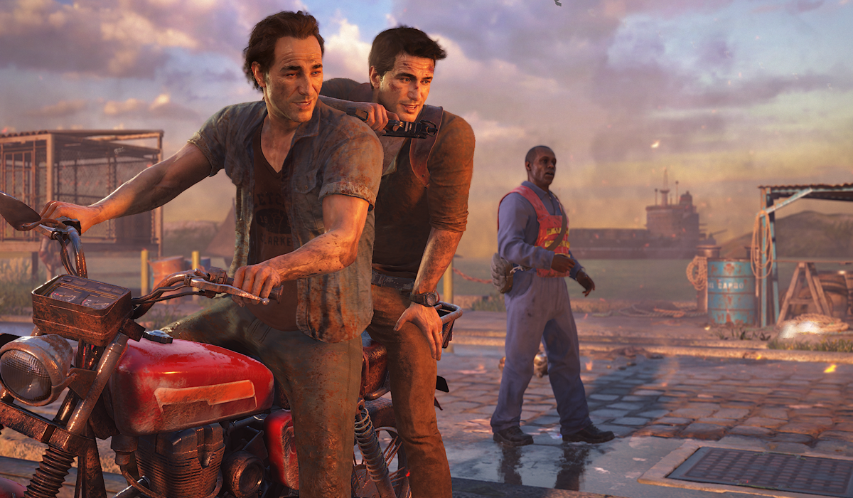 Uncharted 4 Nathan Drake Sam Drake