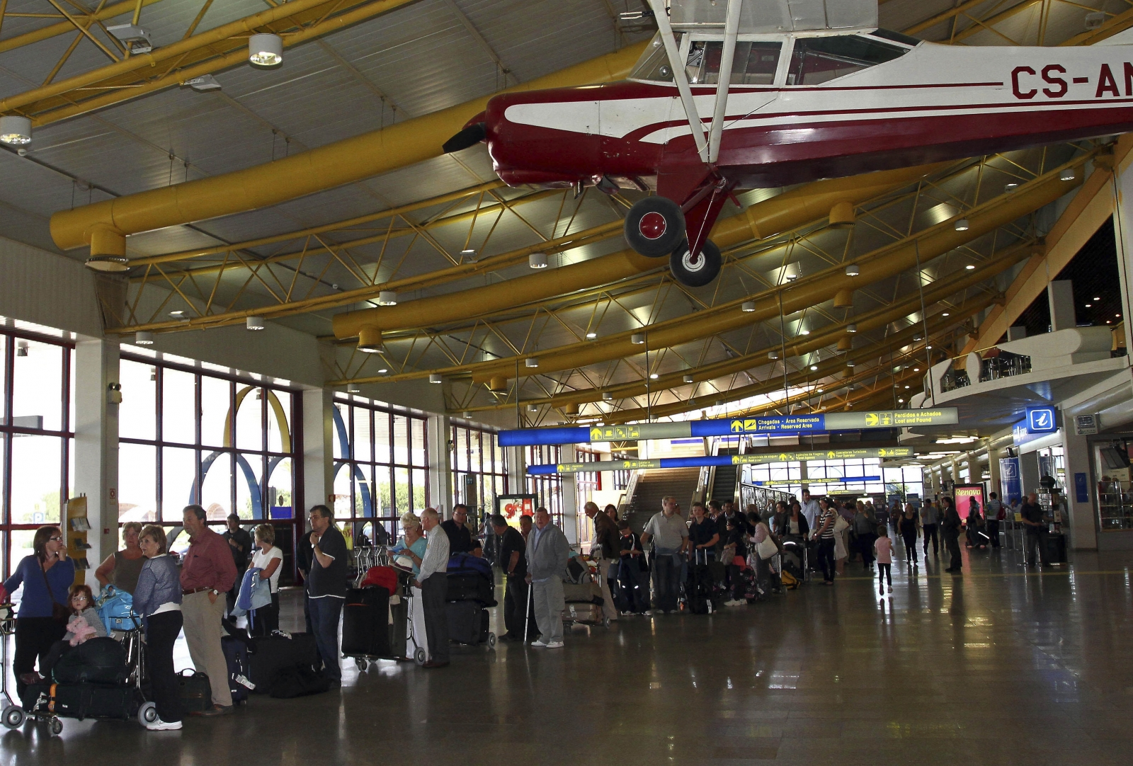 Faro Airport in the Algarve