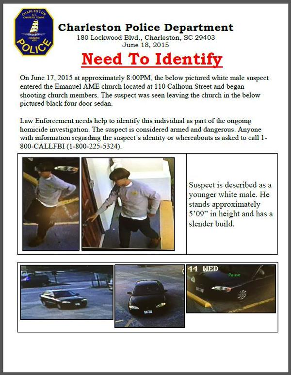 Charleston church shooting suspect