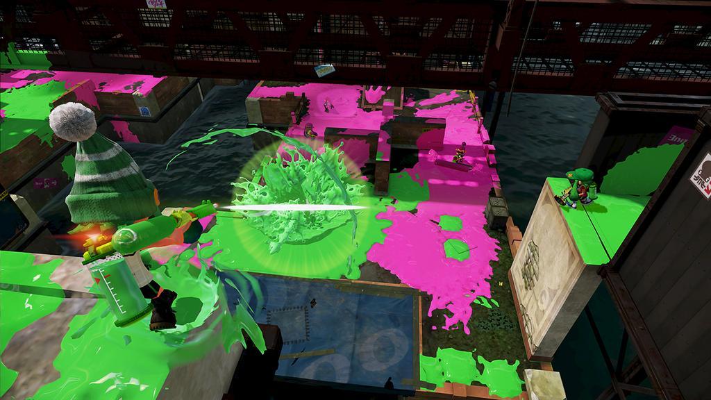 Splatoon Bluefin Depot map