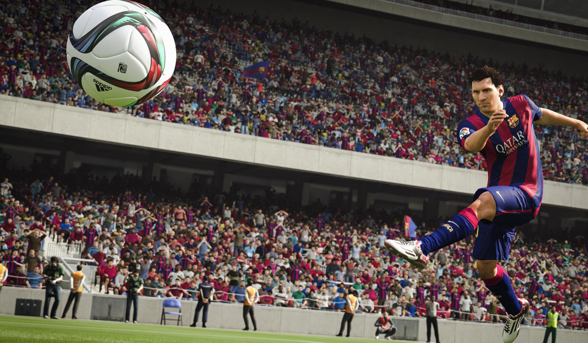 Fifa 16 Messi Screenshot