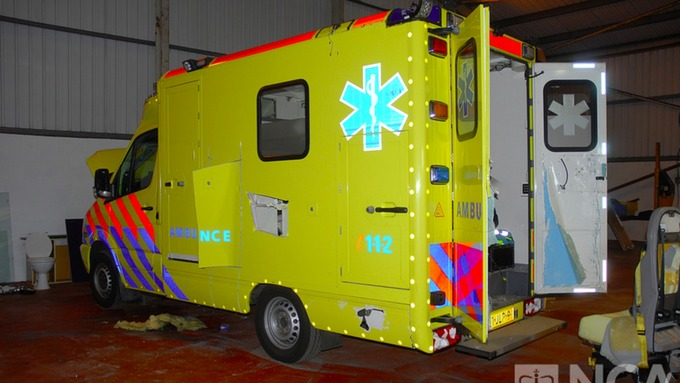 fake ambulance
