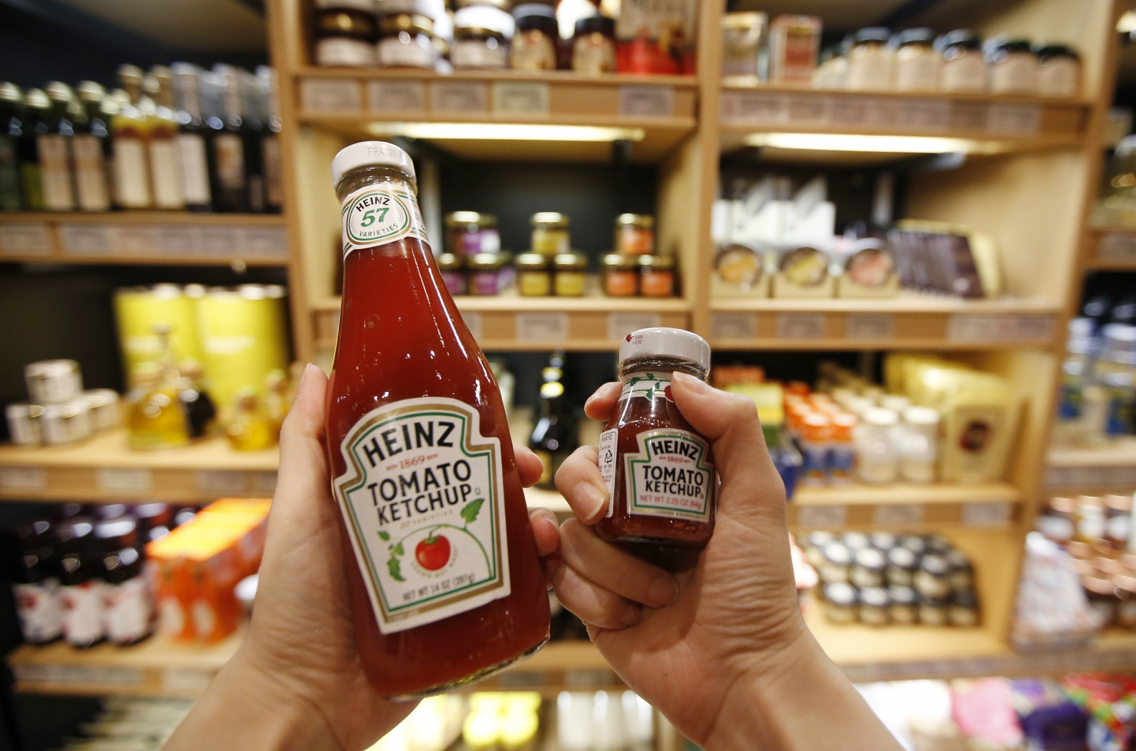 Heinz ketchup bottle