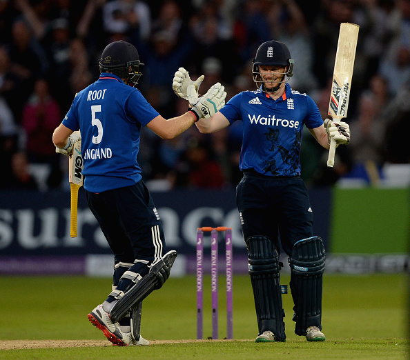 Eoin Morgan-Joe Root