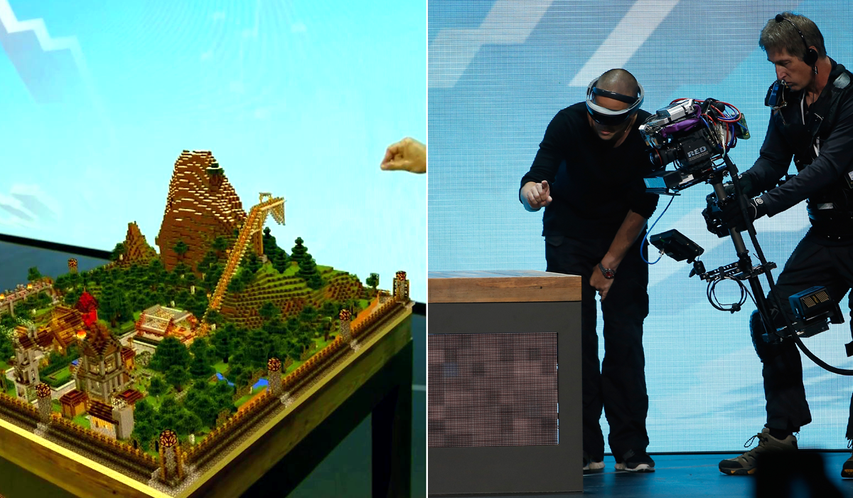 hololens-minecraft Making A Map In Minecraft on making a chair in minecraft, making a fishing rod in minecraft, making a flag in minecraft, making a blanket in minecraft, making a helmet in minecraft, making a clock in minecraft, making a watch in minecraft, making a boat in minecraft,