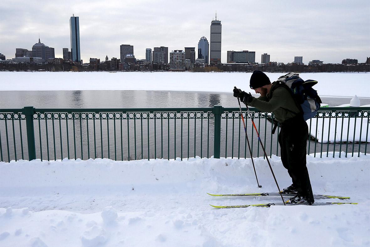 boston winter summer