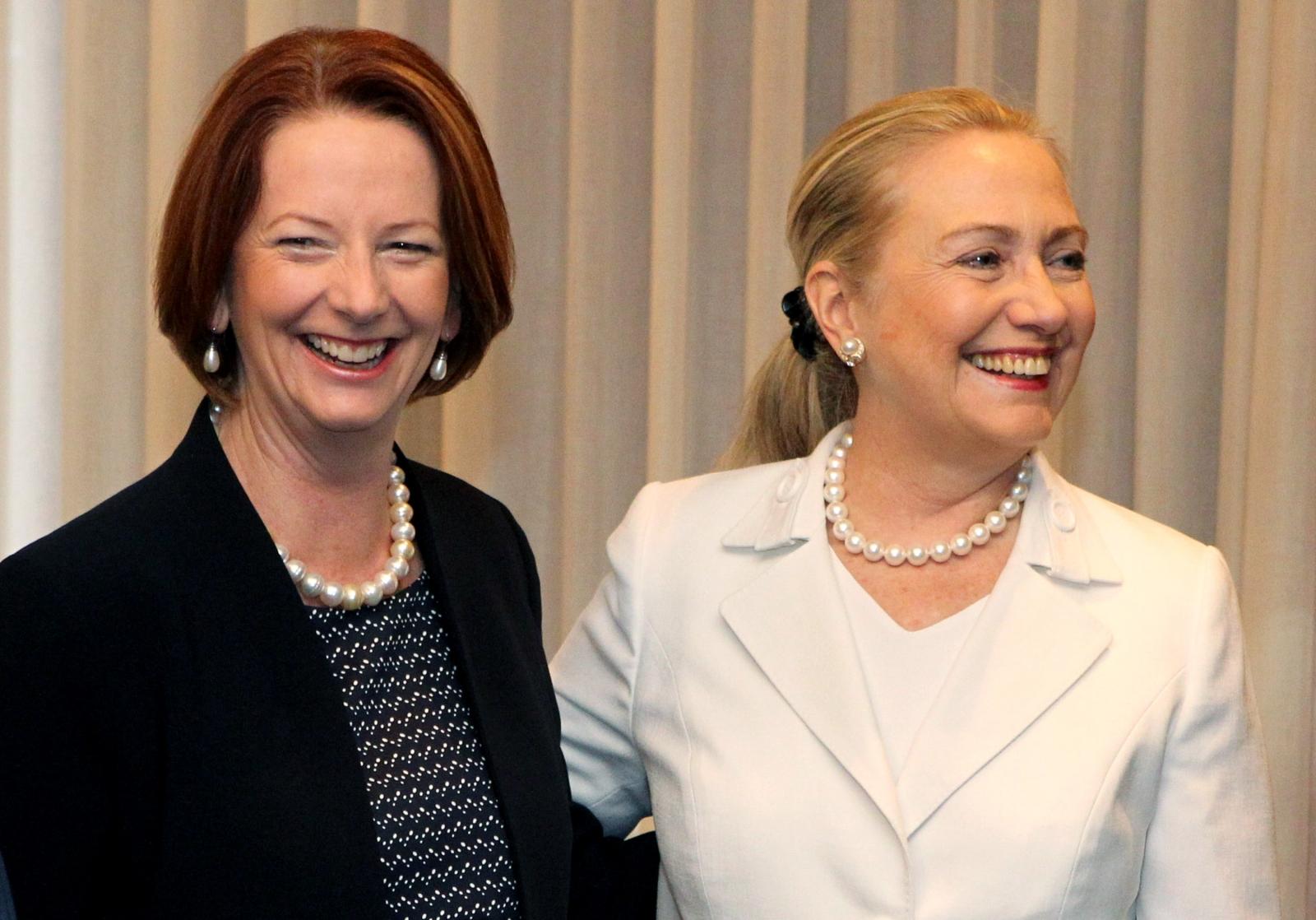 Julia & Hillary