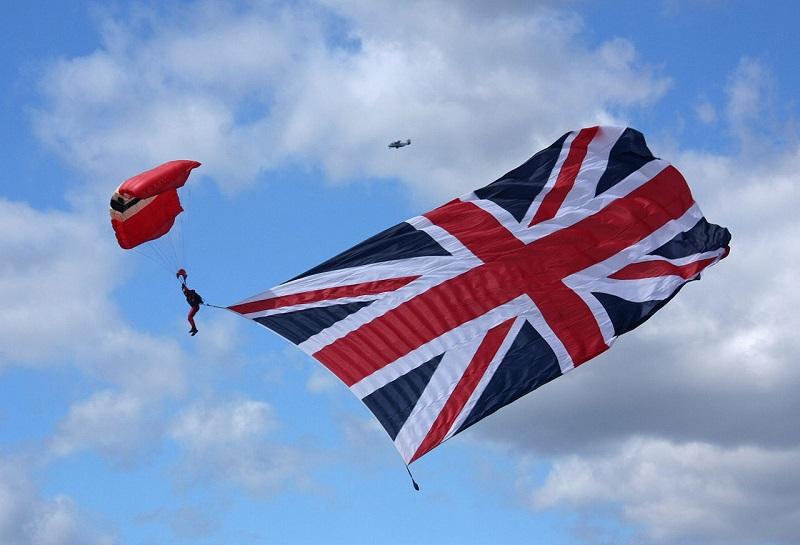 Red Devil Parachute Regiment Union Jack