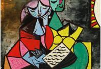 Picasso\'s Deux Personnages (La Lecture)