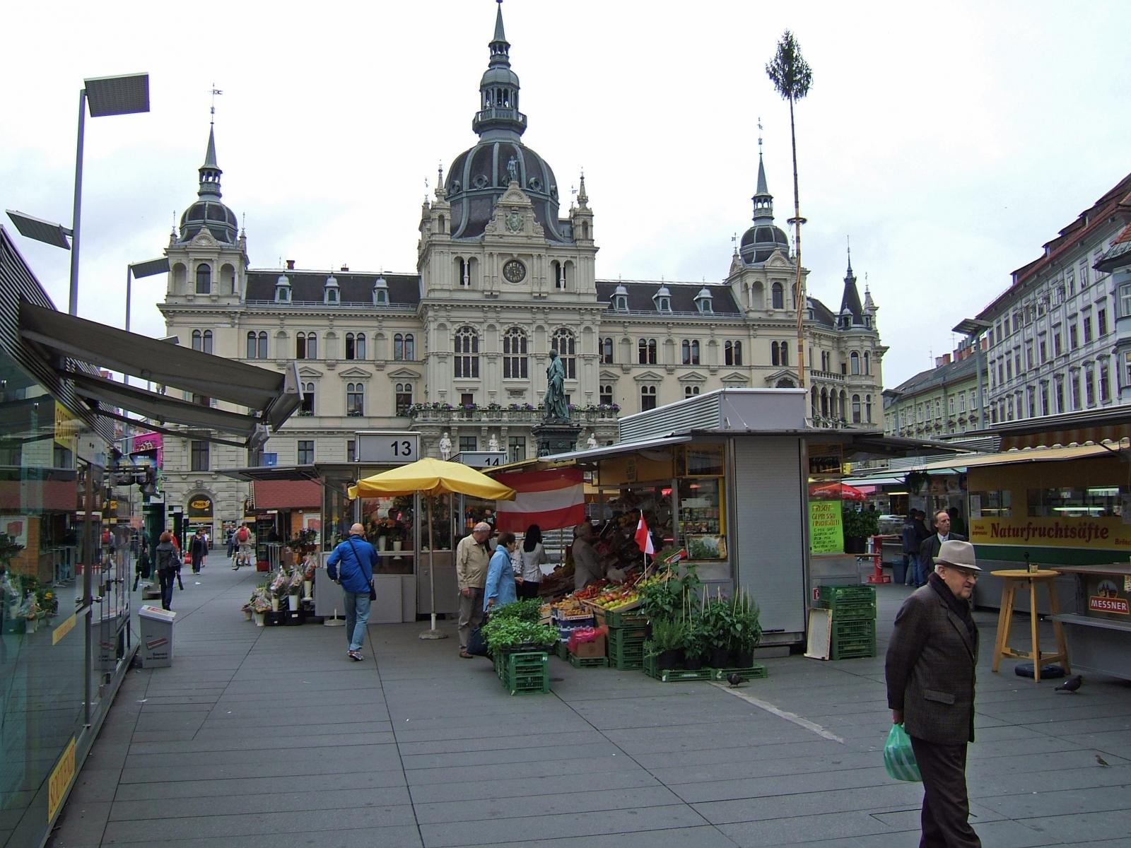 Hauptplatz Graz Austria