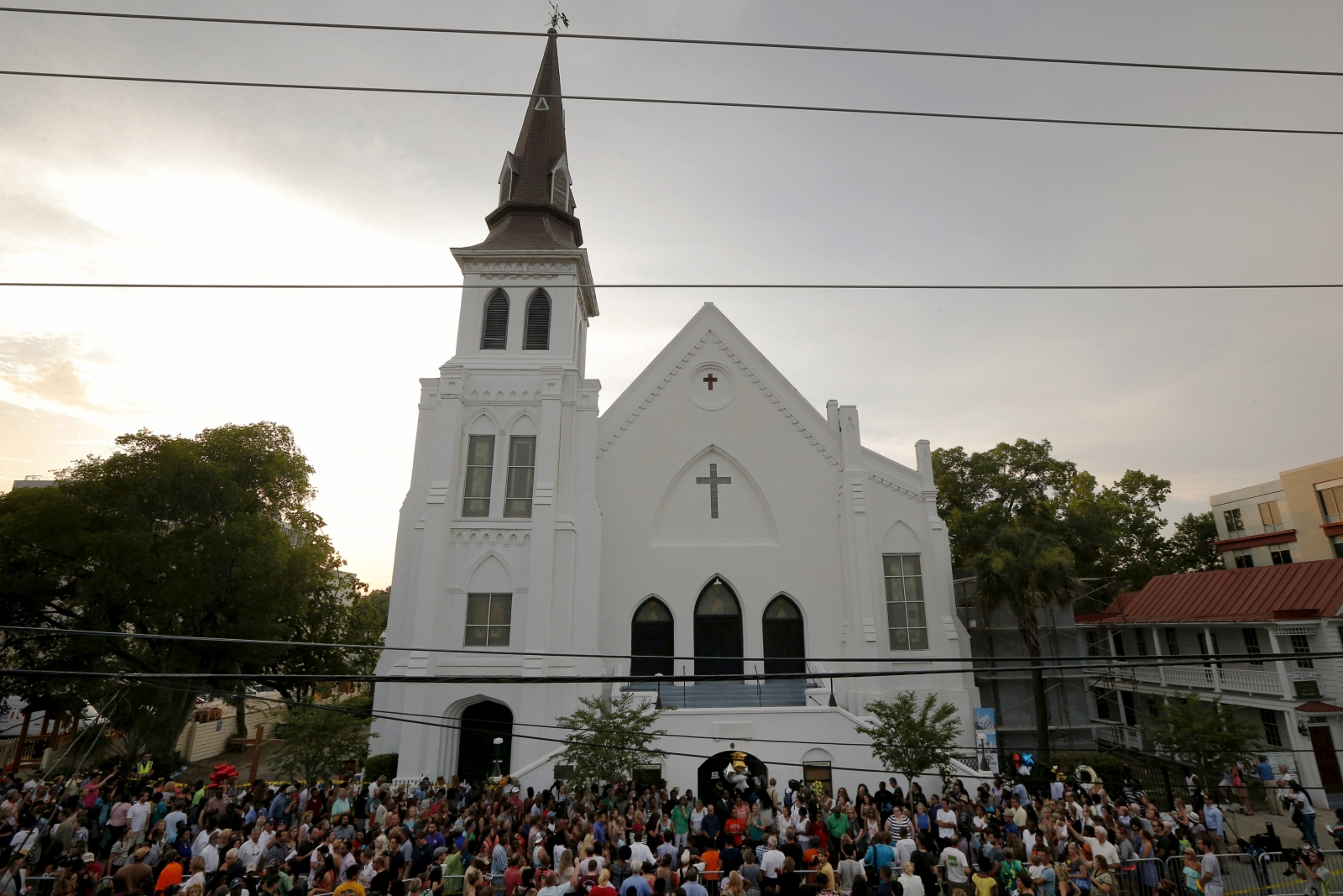 Charleston church reopens after massacre
