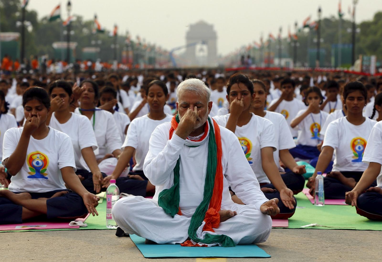 World Yoga Day: India celebrates