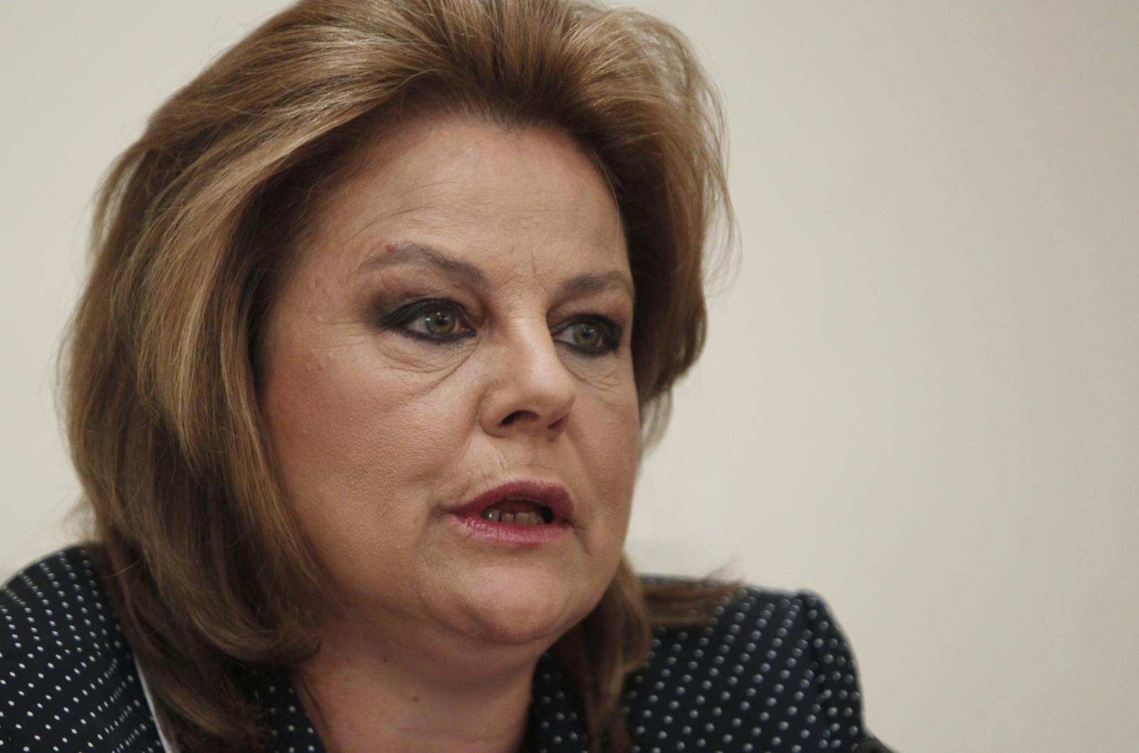 Louka Katseli Greece bank