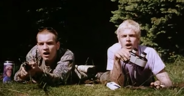 Ewan McGregor and Jonny Lee Miller inTrainspotting