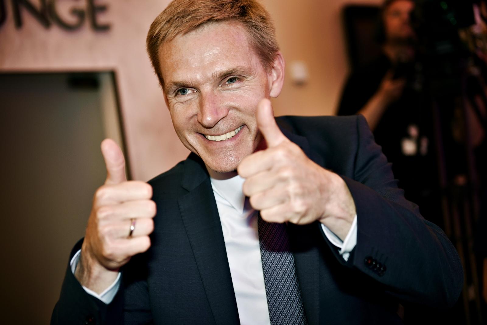Danish politician Kristian Thulesen Dahl