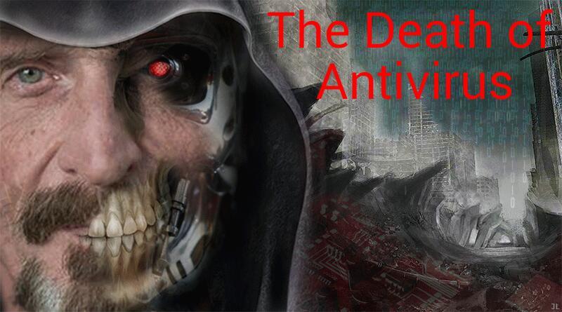 Death of antivirus John Mcafee