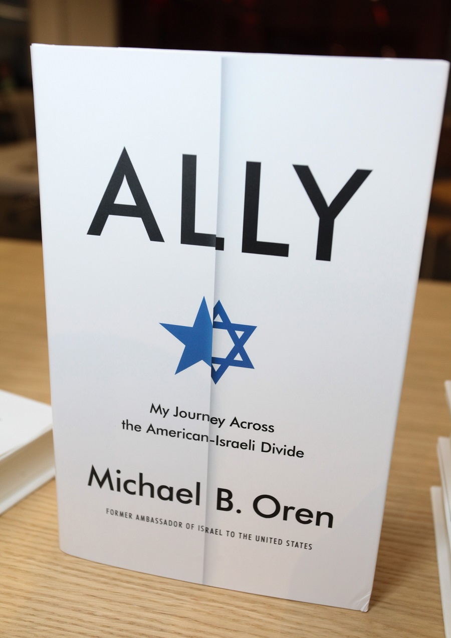 Michael Oren's book Ally