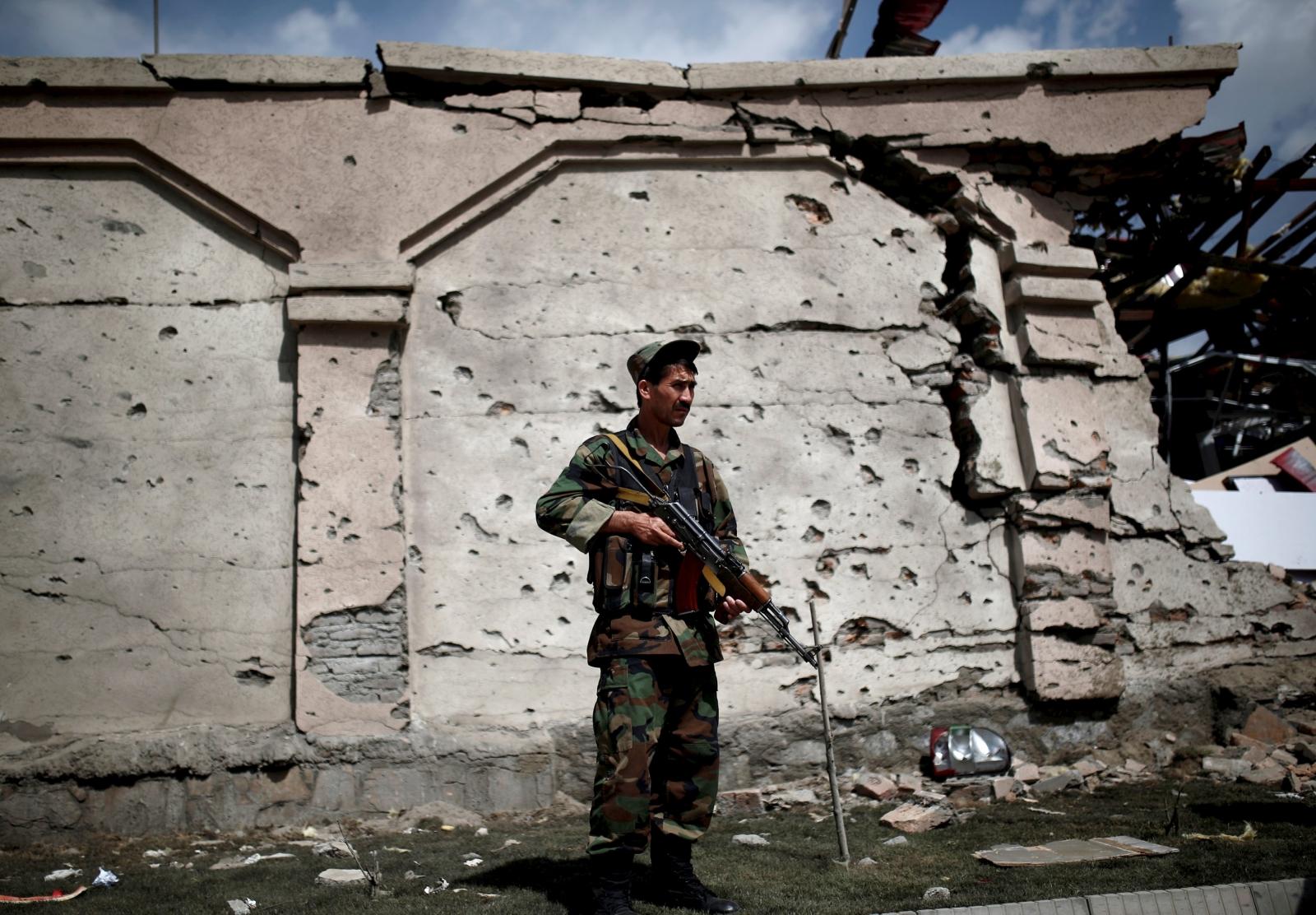 Afghan troop