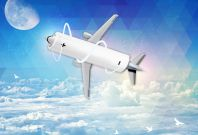 nasa electric plane fuselage battery