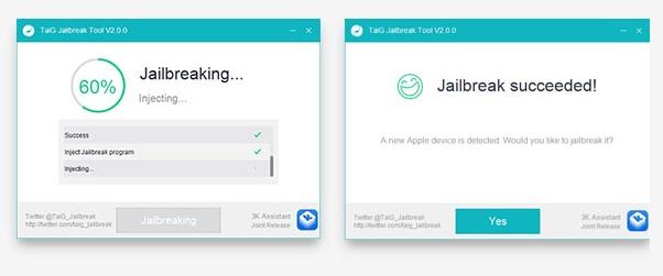 TaiG jailbreak v2.0.0