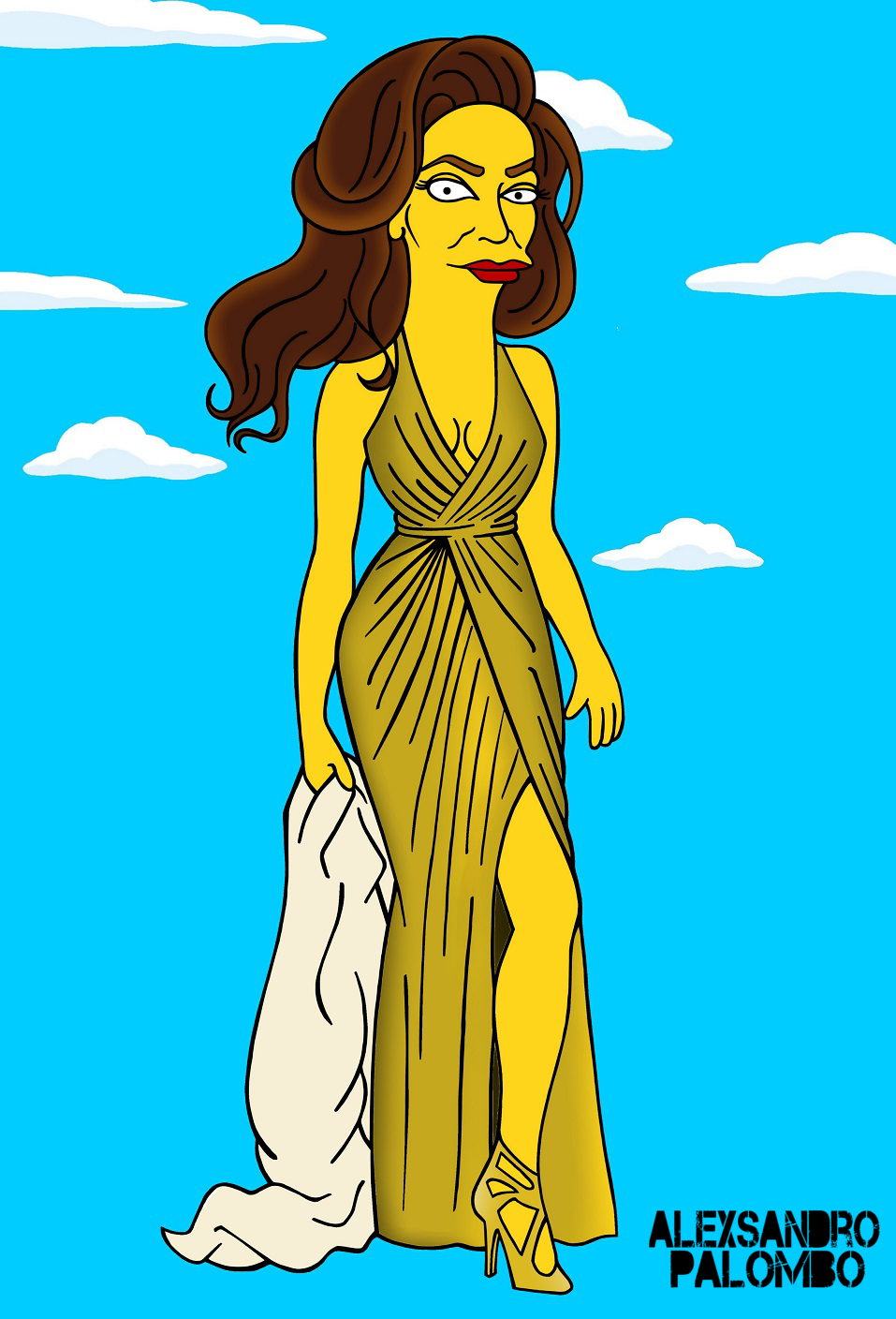 Caitlyn Jenner Simpons