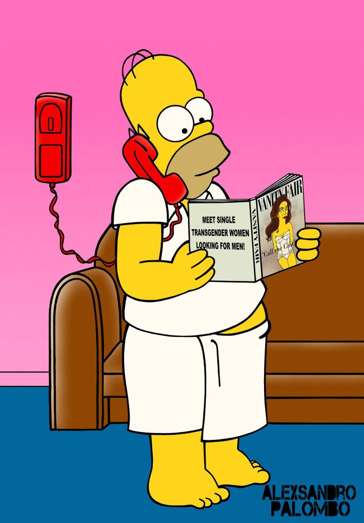 Caitlyn Jenner Simpsons