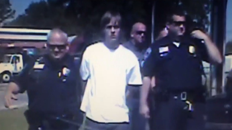 Dylann Roof arrest