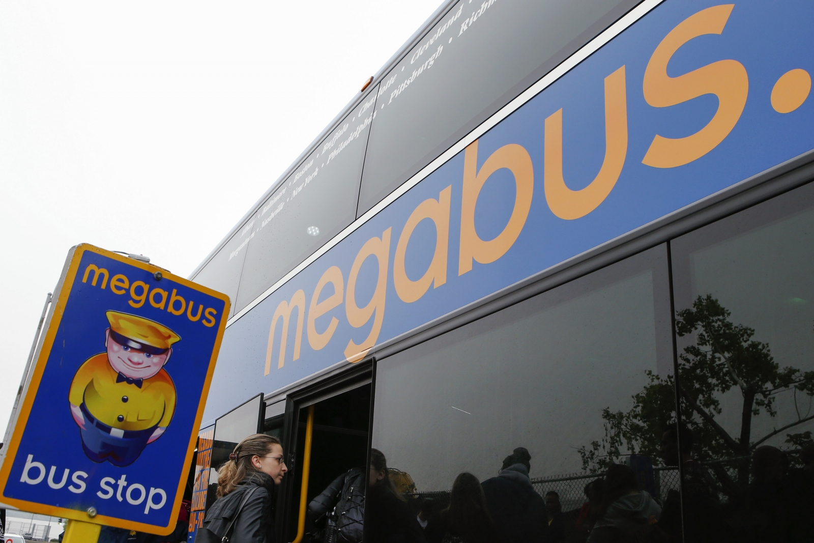 Megabus, owned by Stagecoach
