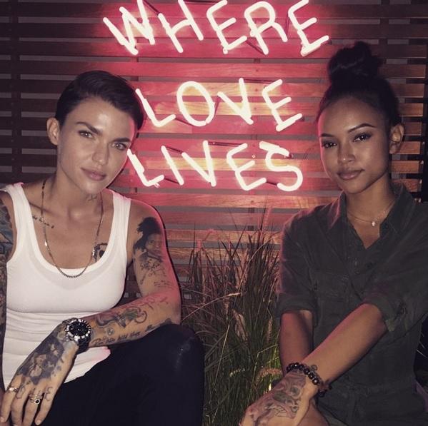Ruby Rose and Karrueche Tran