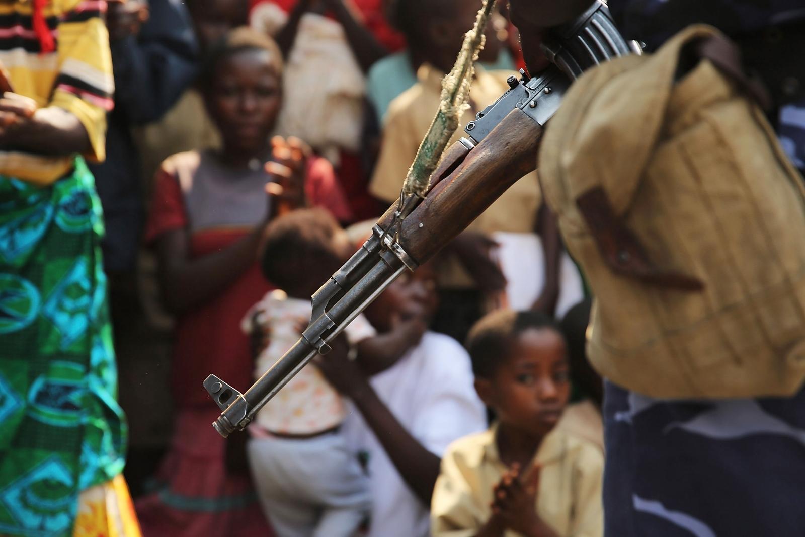 Burundi arms