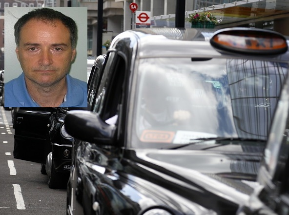 David Perry black cab driver