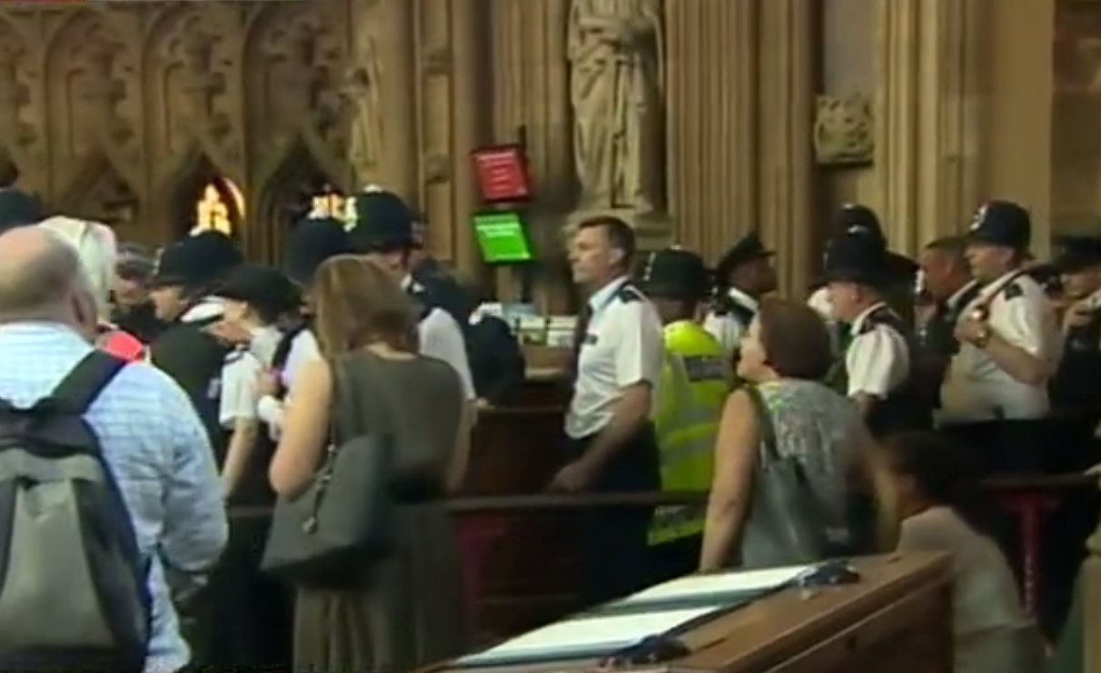 House of Commons disability protest