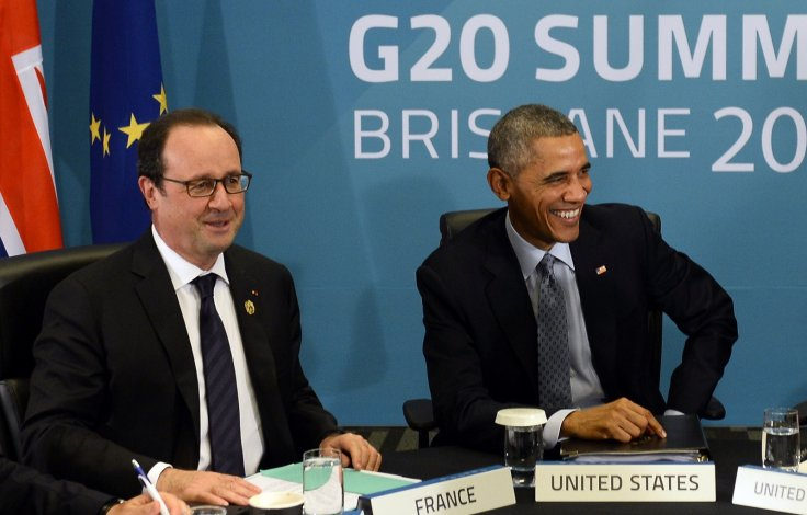 Barack Obama Francois Hollande
