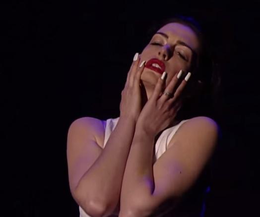 Anne Hathaway on Lip Sync Battle