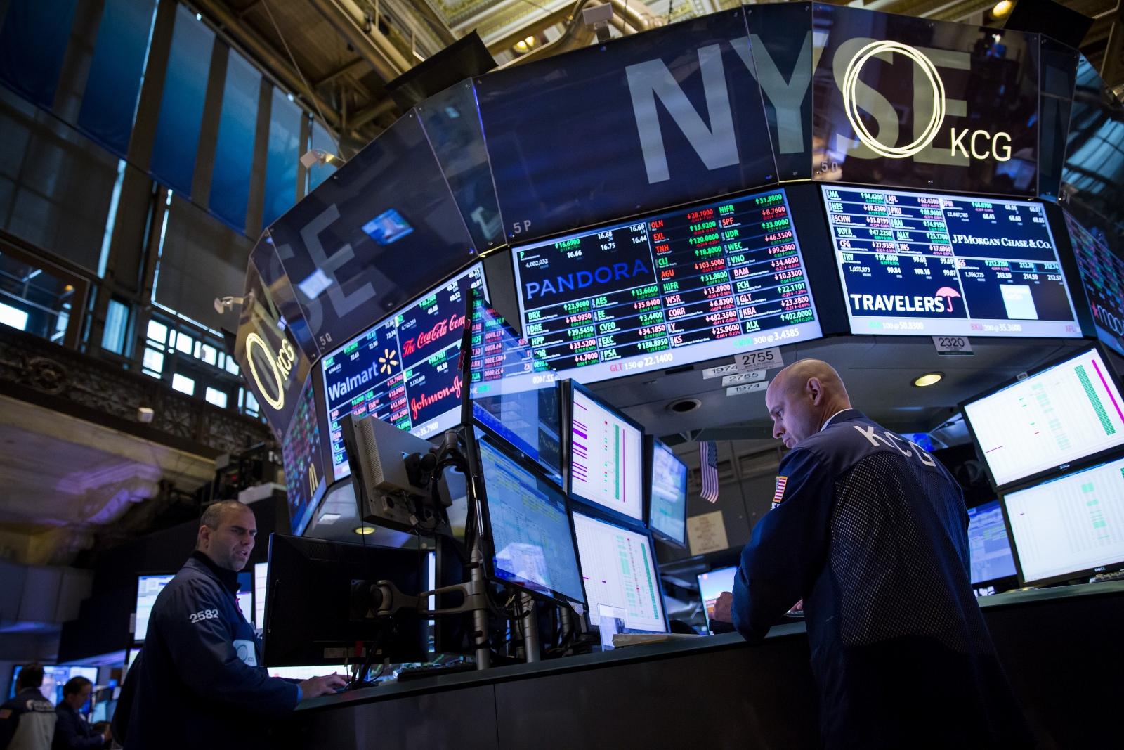 Brokers at NYSE