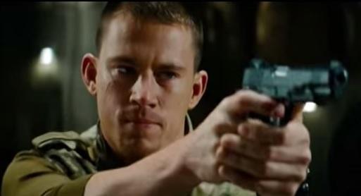 Channing Tatum in G.I. Joe movie