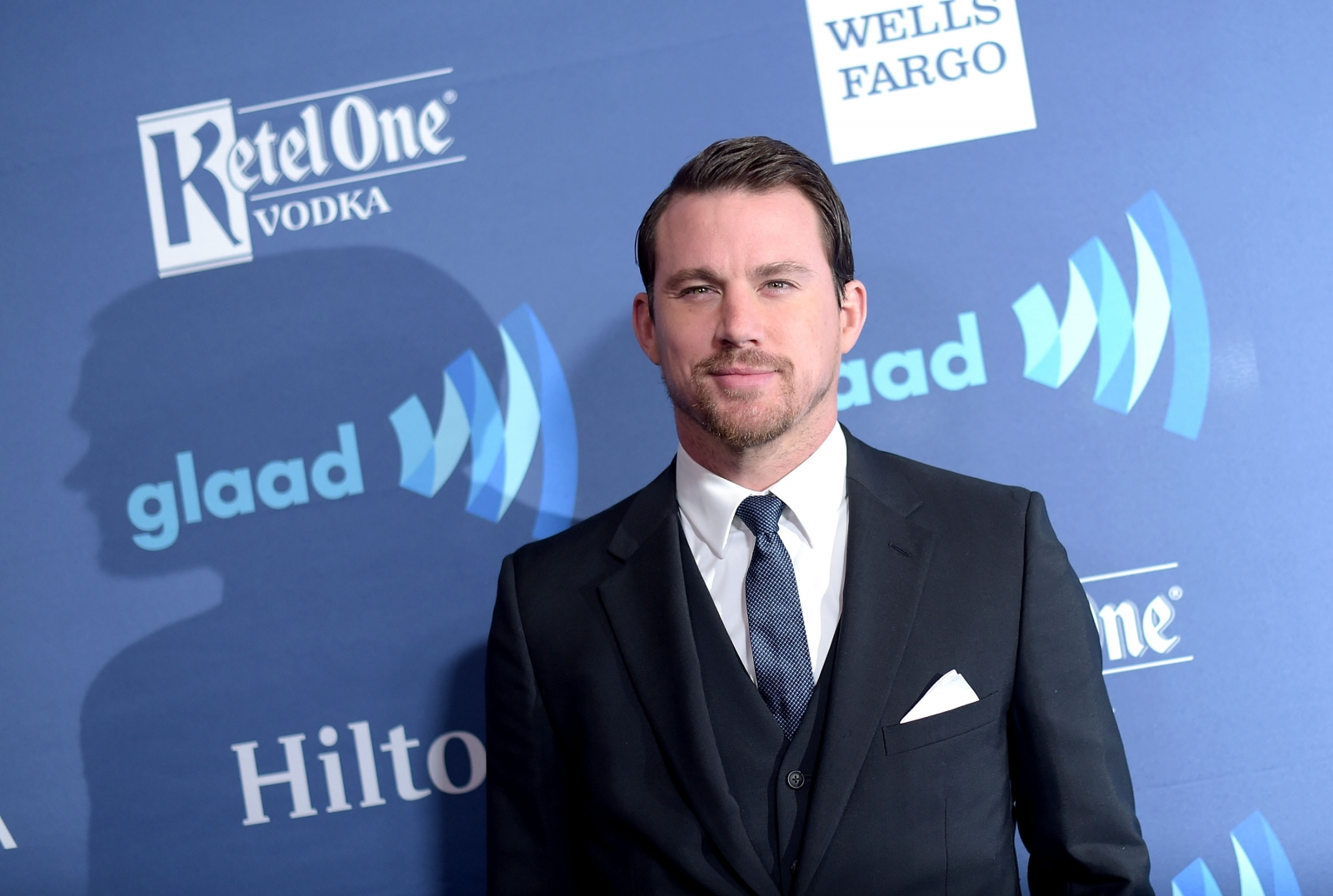 Channing Tatum at GLAAD Media Awards 2015