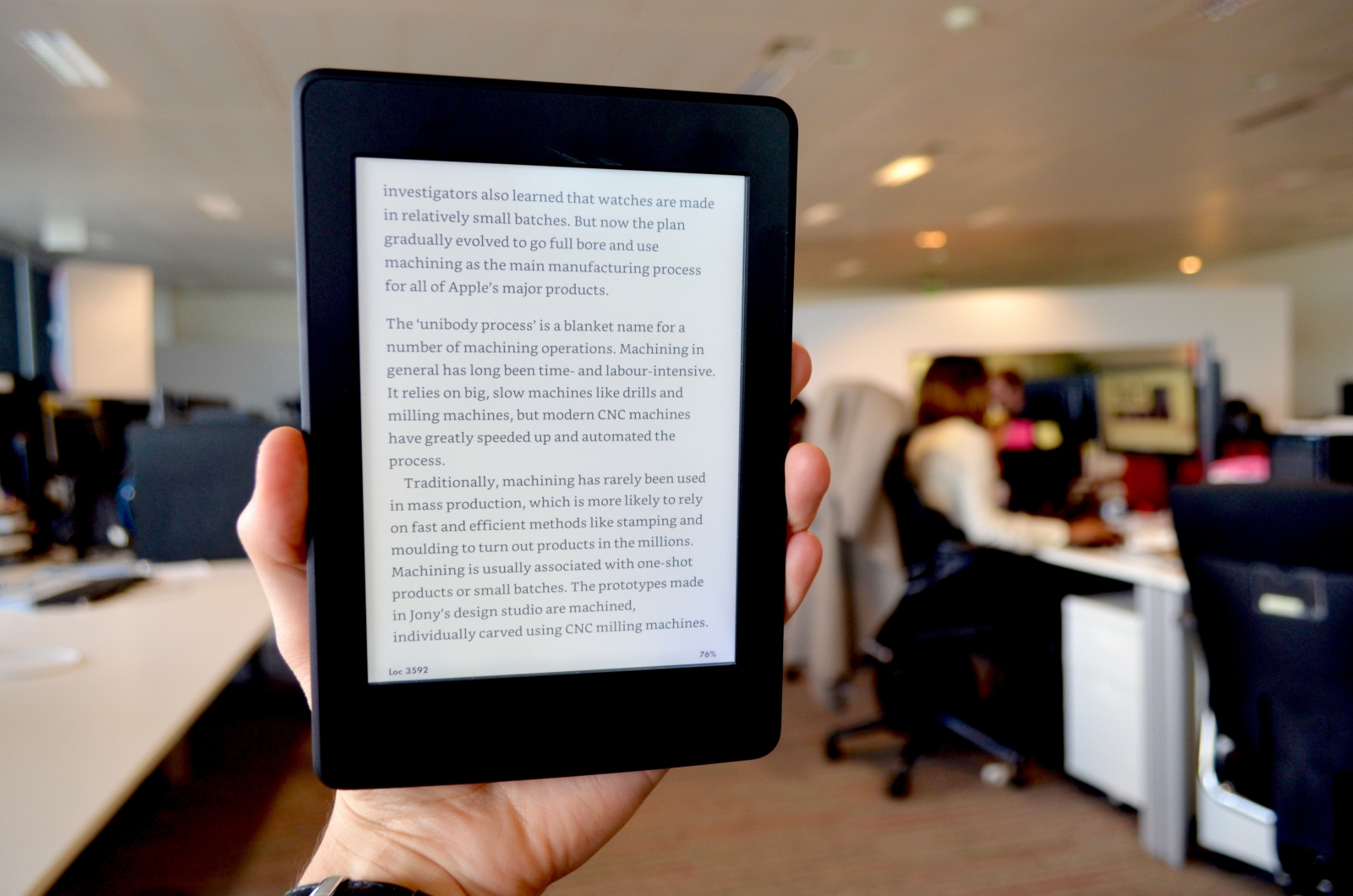 Amazon Kindle Paperwhite (2015) review: Meet the new boss ...