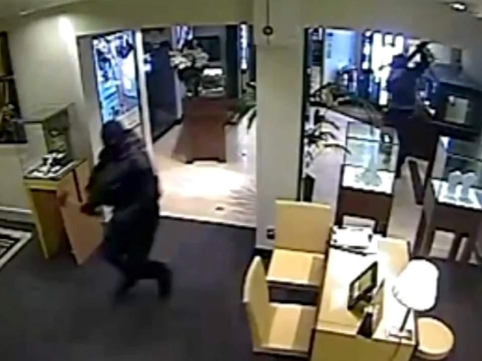 Jewellery store raid