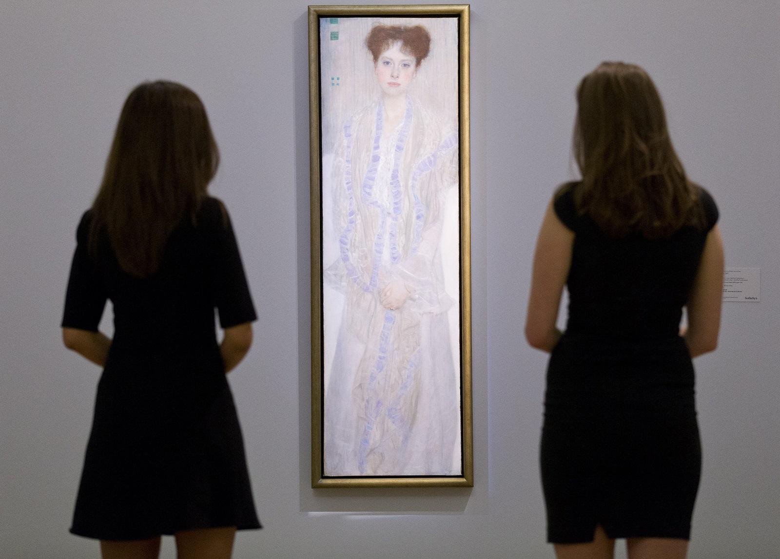 Portrait of Gertrude Loew by Gustav Klimt