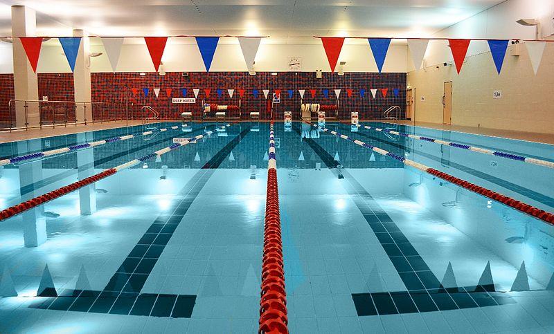 swimming pool urine