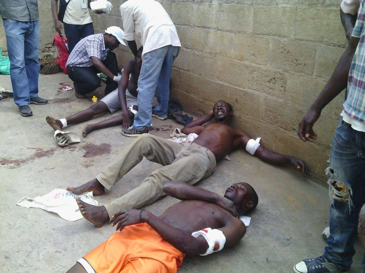 Burundi Bujumbura grenade attack