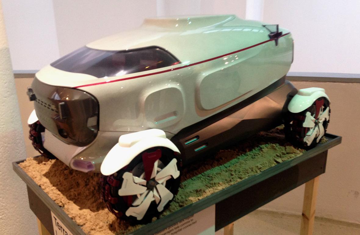Land Rover RCA concept car