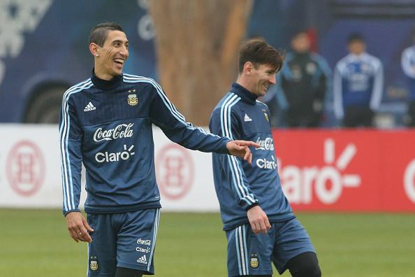 Angel Di Maria-Lionel Messi